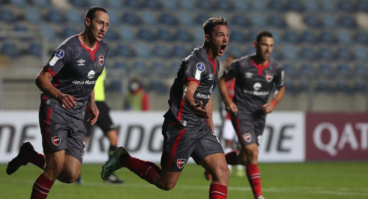 Newells levanta cabeza en la Copa Sudamericana. Foto: EFE