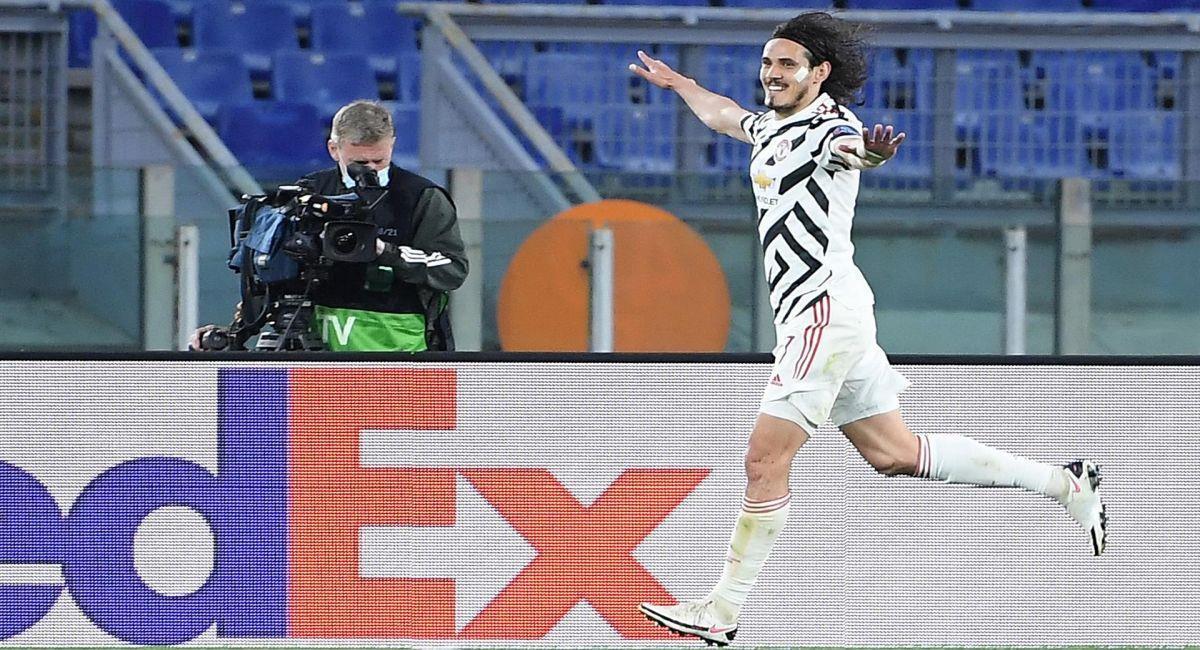 Manchester United eliminó a la Roma en las semifinales de la Europa League. Foto: EFE