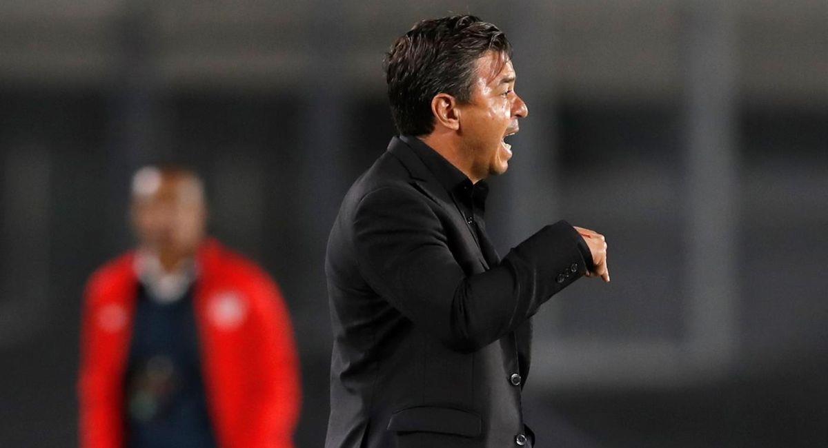 Marcelo Gallardo, entrenador de River Plate. Foto: EFE