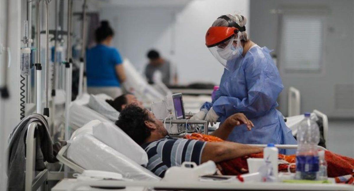 El coronavirus sigue golpeando a la Argentina. Foto: Twitter