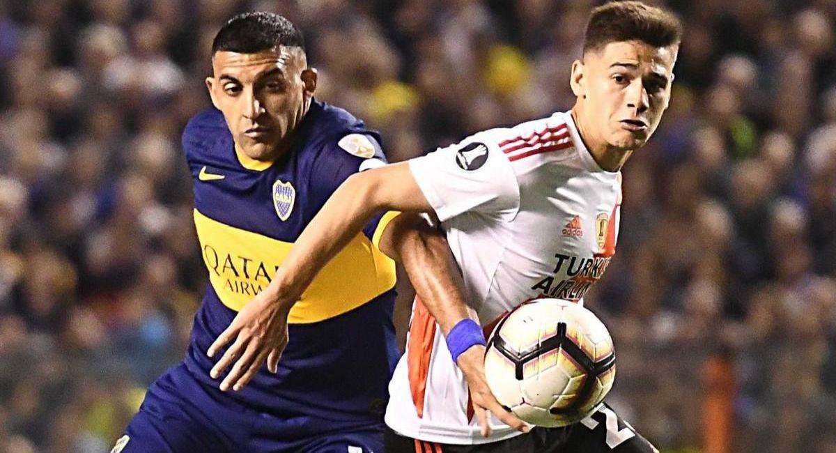 Boca Juniors y River Plate chocarán en los cuartos de final de la Copa de la Liga Profesional. Foto: EFE