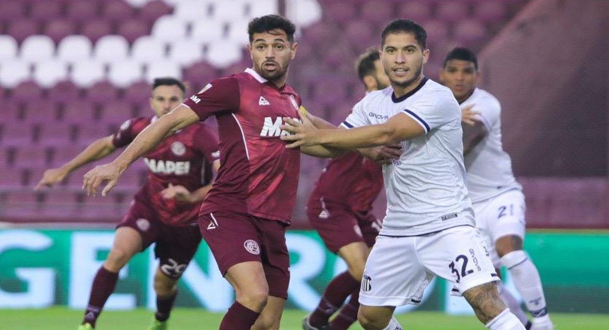 Talleres avanzó en la Copa de la Liga pese a caída ante Lanús. Foto: Twitter Liga Profesional de Argentina