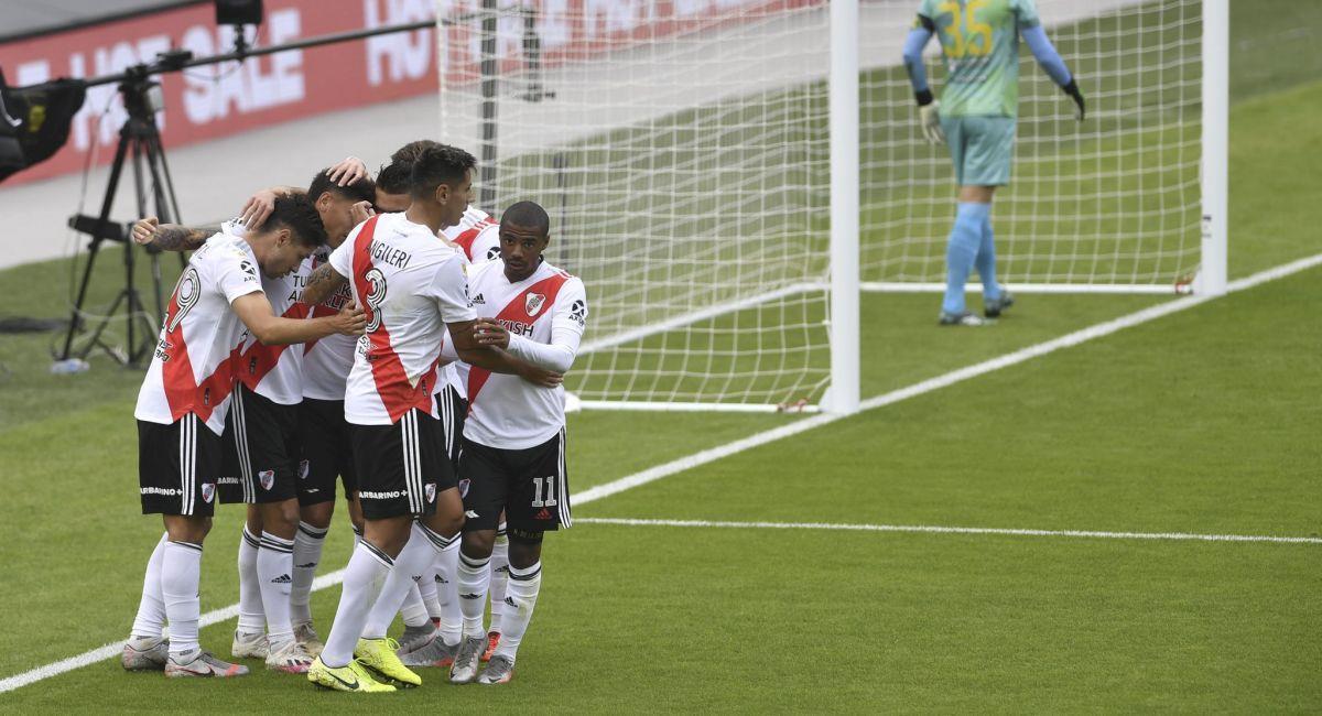 River Plate ya está en los cuartos de final de la Copa de la Liga Profesional. Foto: Twitter Liga Profesional de Argentina
