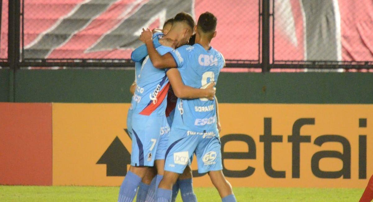 Arsenal de Sarandí quiere vencer al Ceará en Brasil. Foto: Facebook Club Arsenal de Sarandí