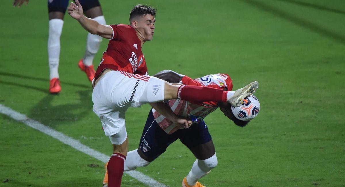 River Plate sumó un punto ante Junior de Barranquilla. Foto: EFE