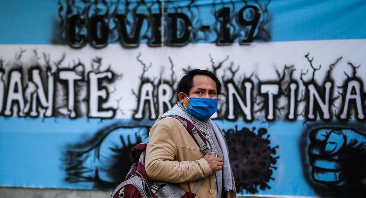 La COVID-19 sigue atacando a toda la Argentina. Foto: Andina