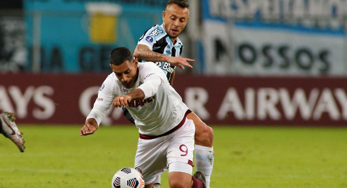 Lanús no pudo con Gremio en la Copa Sudamericana. Foto: EFE