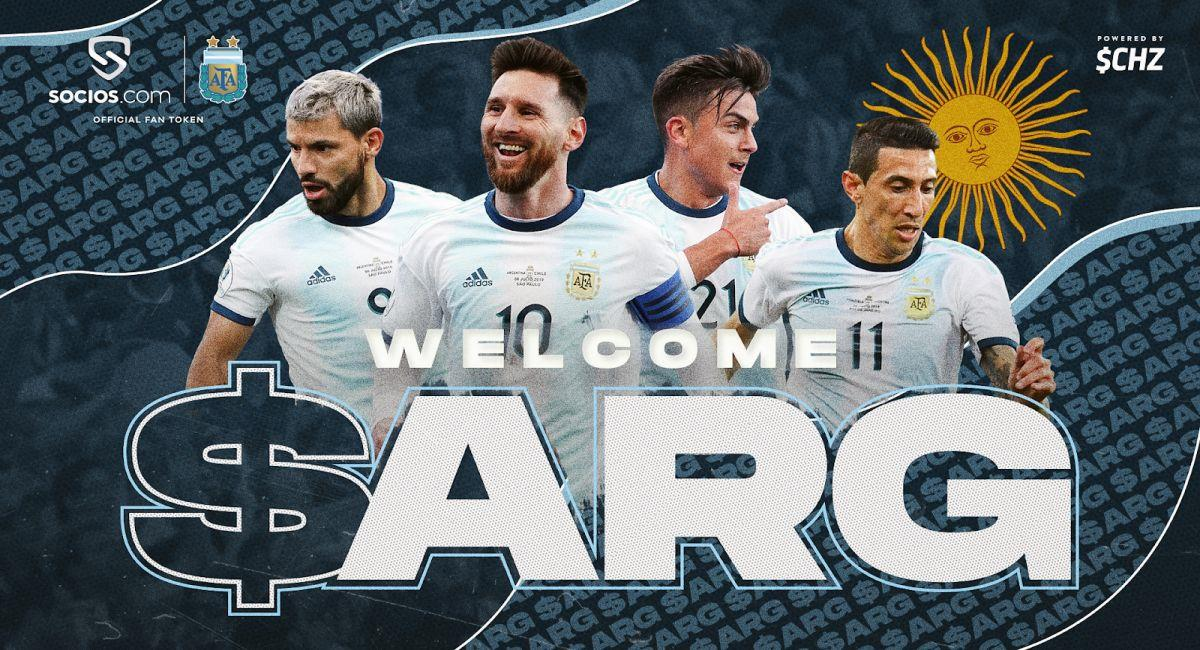 Argentina ya cuenta con su primer token deportivo. Foto: Twitter