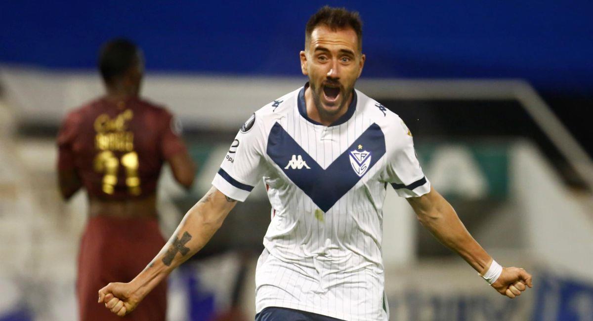 Vélez Sarsfield se ilusiona con llegar a los octavos de final de la Copa Libertadores. Foto: EFE