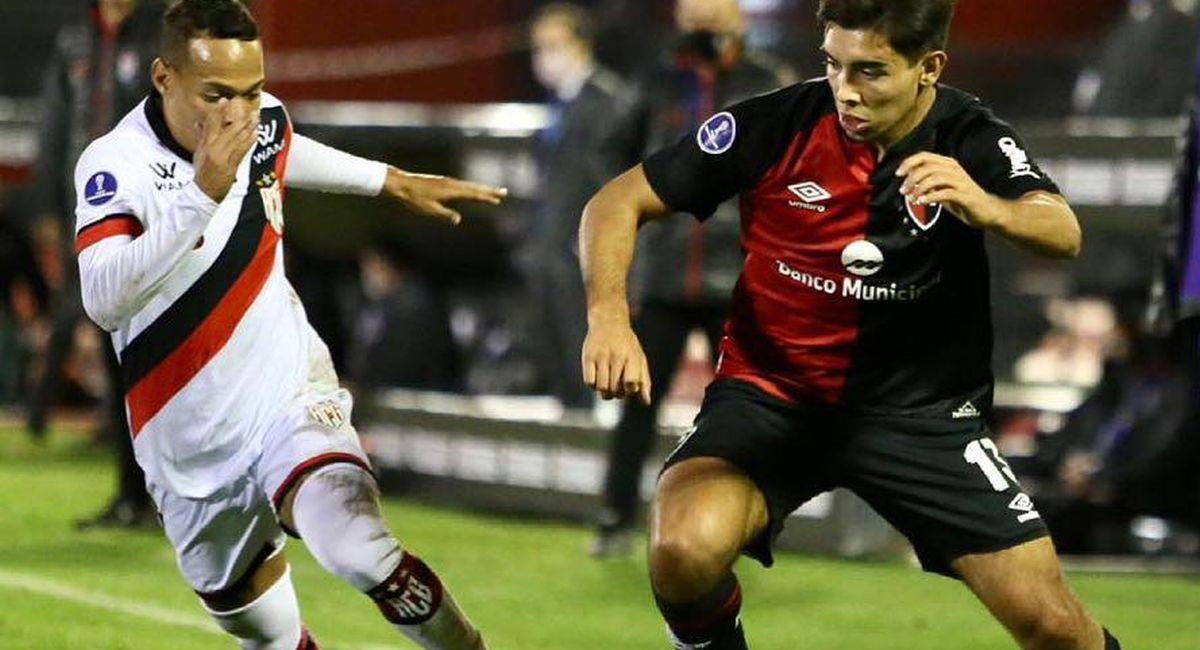 Newells Old Boys solo pudo empatar ante Goianiense en la Copa Sudamericana,. Foto: Facebook Club Newells Old Boys