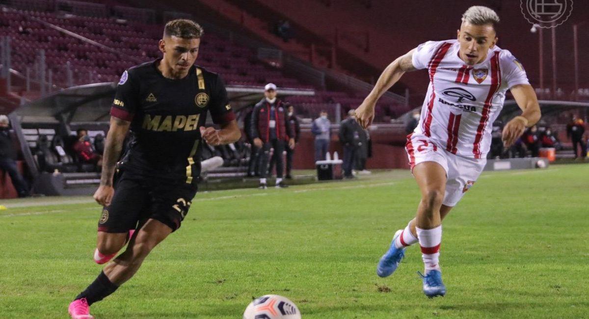 Lanús no pudo con el Aragua en la Copa Sudamericana. Foto: Facebook Club Lanús
