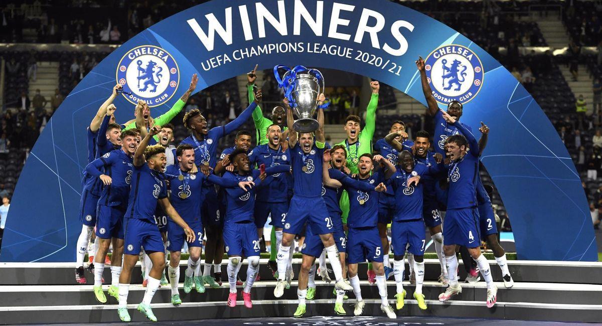 Chelsea es el nuevo campeón de la Champions League. Foto: EFE