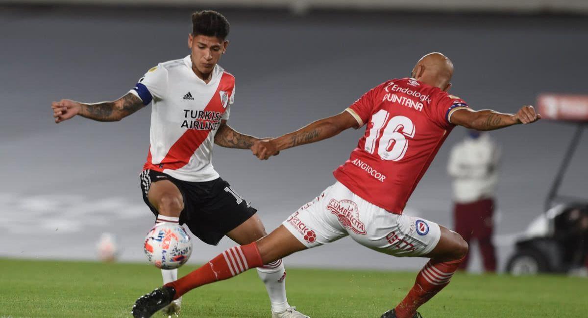 River Plate chocará ante Argentinos Juniors en los octavos de la Copa Libertadores. Foto: Twitter