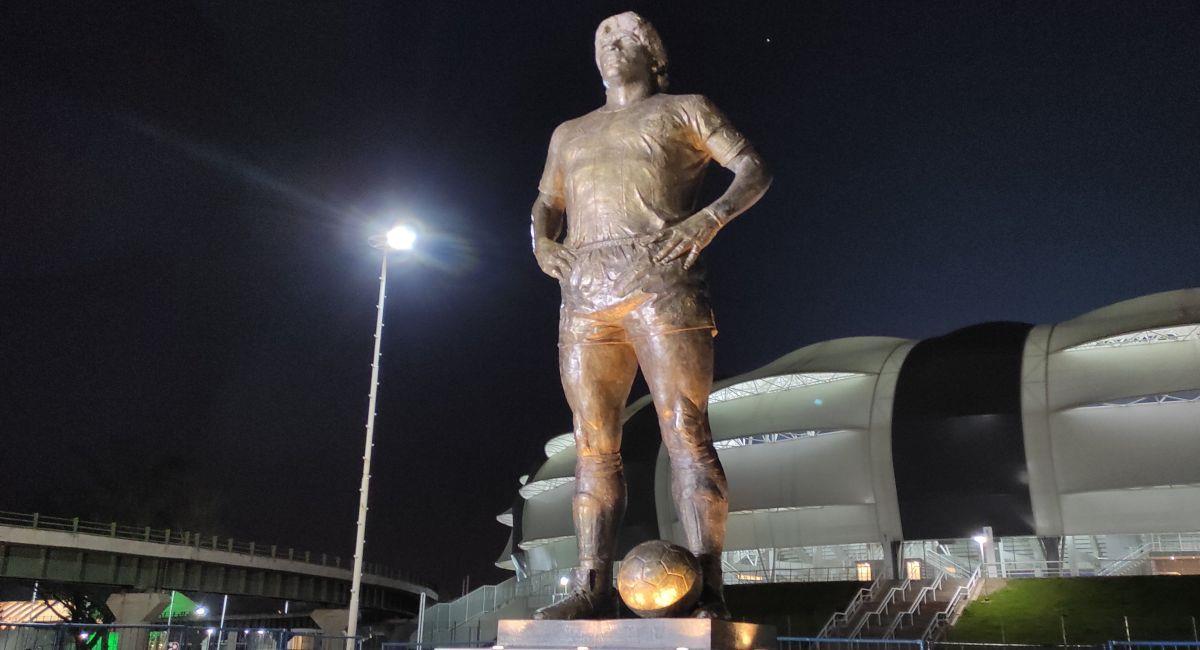 Estadio de Diego Maradona en Santiago del Estero. Foto: Twitter