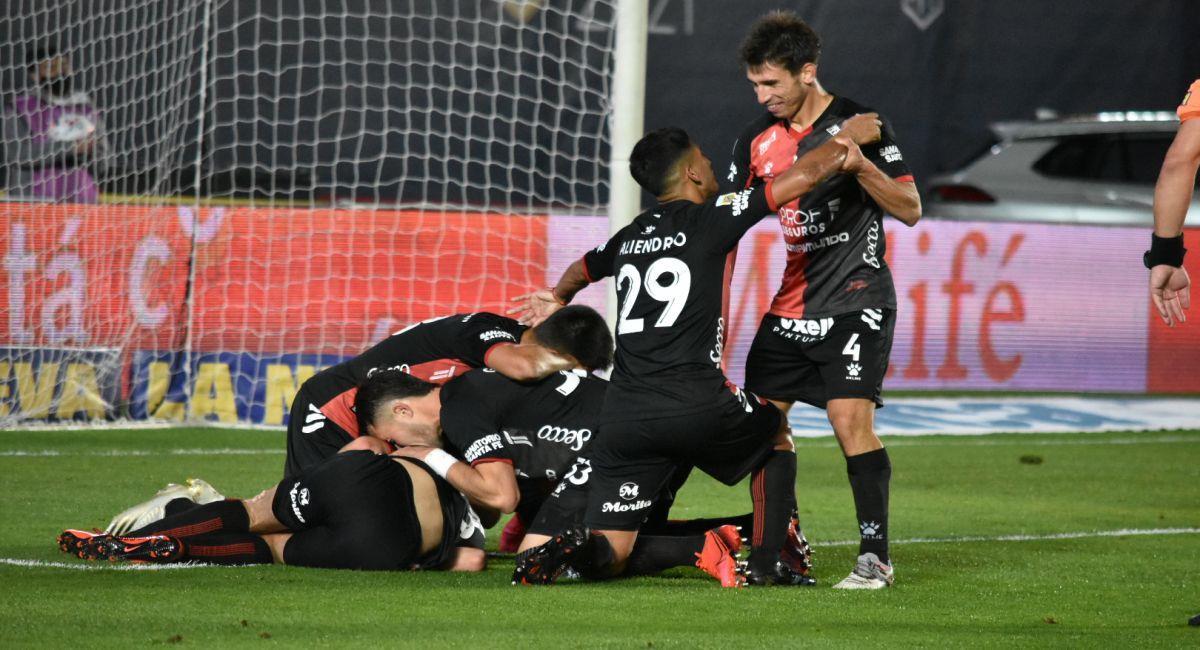 Colón de Santa Fe es el mejor equipo de la Copa de la Liga Profesional. Foto: Twitter Liga Profesional de Argentina