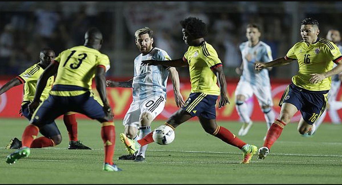 Argentina se topará ante Colombia por las Eliminatorias. Foto: Twitter