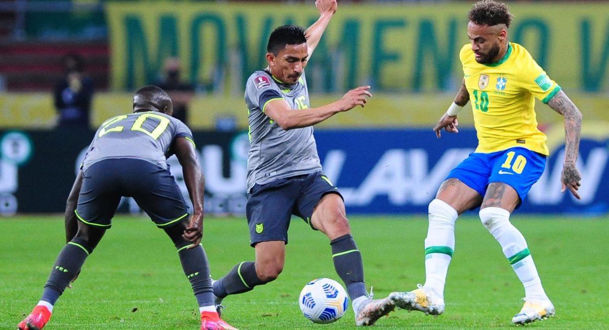 Brasil hizo lo justo para vencer a Ecuador. Foto: EFE