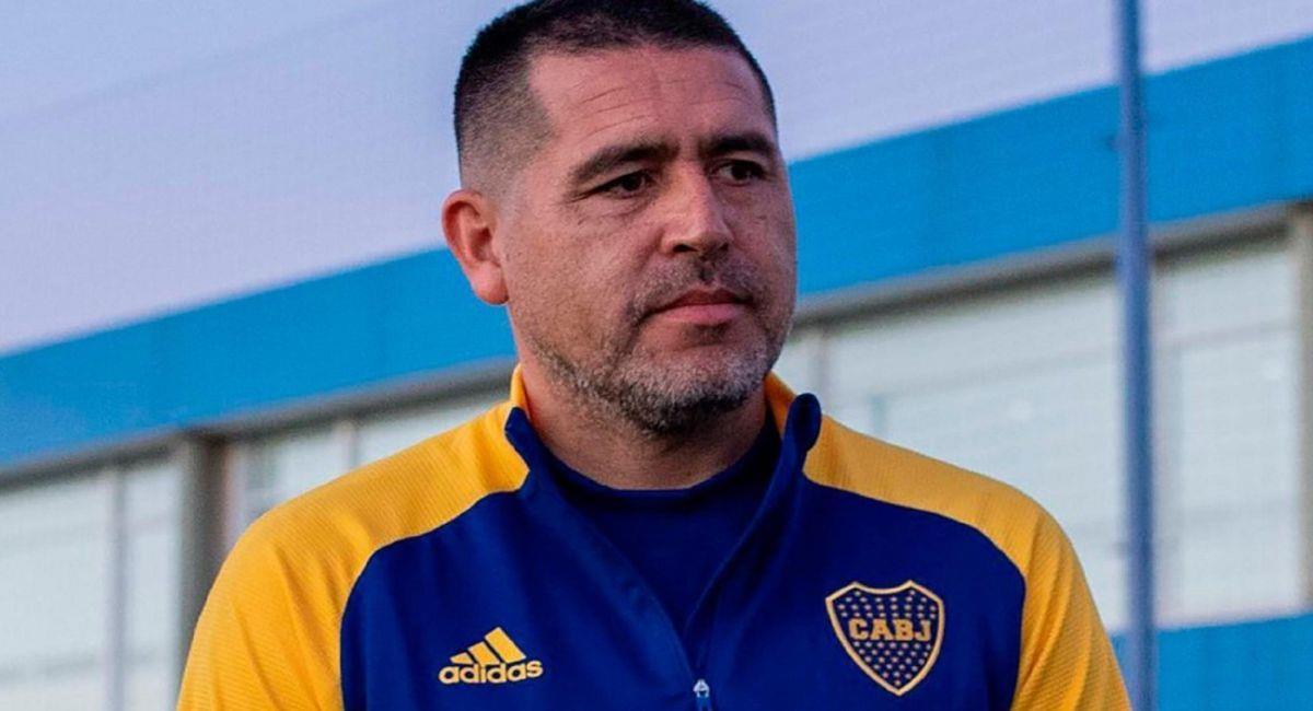 Juan Riquelme, vicepresidente de Boca Juniors. Foto: Twitter