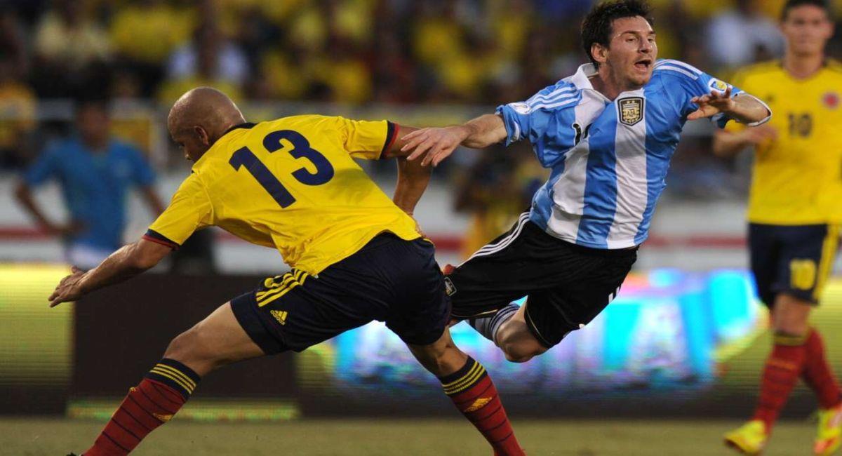 Argentina volverá a verse las caras con Colombia por las Eliminatorias. Foto: Twitter
