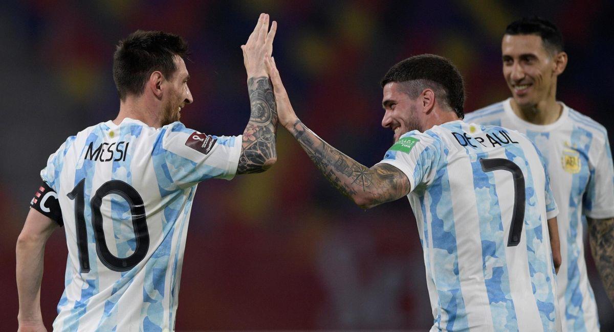 Argentina quiere el triunfo ante Colombia por las Eliminatorias. Foto: EFE