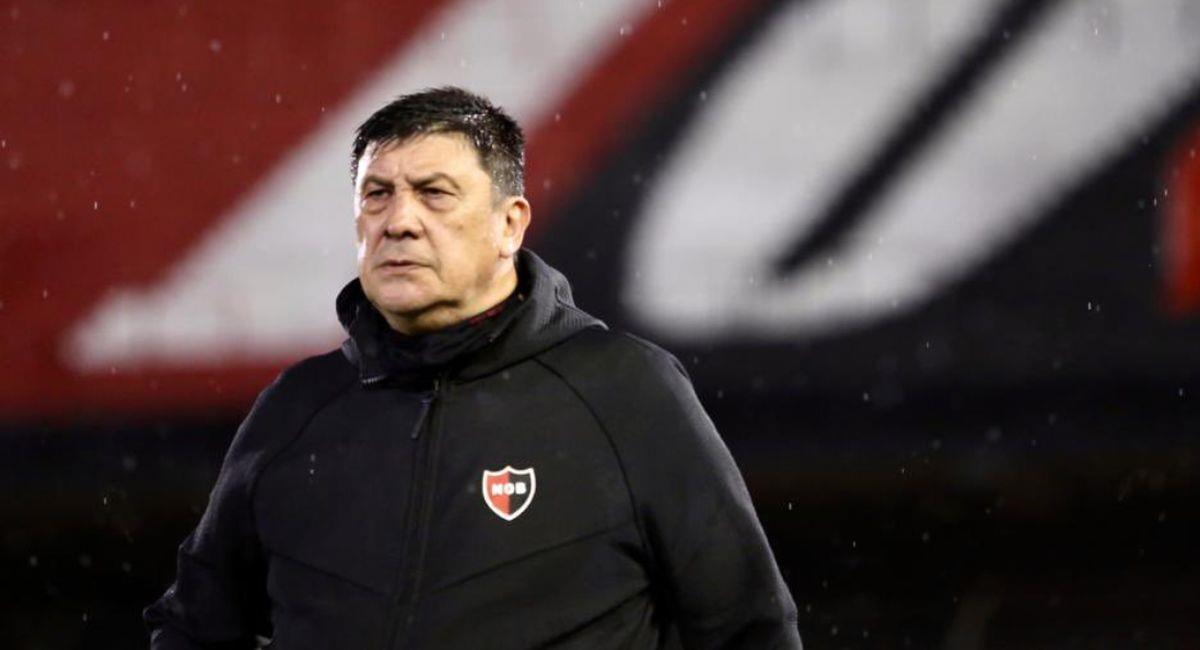 Germán Burgos no tuvo los mejores resultados con Newells Old Boys. Foto: Twitter