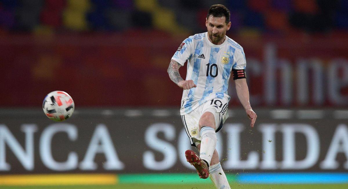 Argentina quiere celebrar ante Colombia en Barranquilla. Foto: EFE