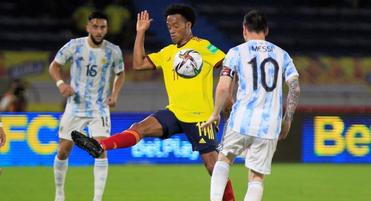 Argentina empató con Colombia en Barranquilla. Foto: EFE