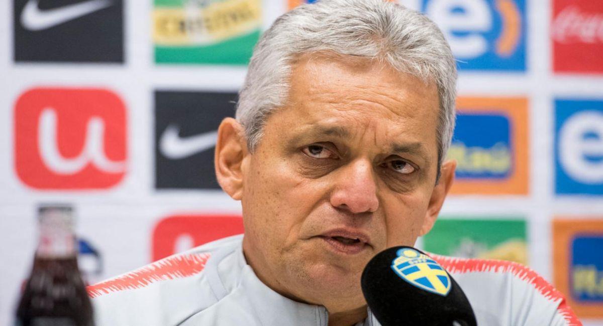Reinaldo Rueda, entrenador de Colombia. Foto: Twitter