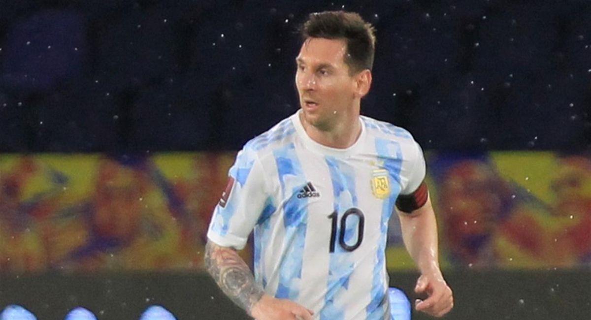 La selección de Argentina solo empató ante Colombia en Barranquilla. Foto: EFE