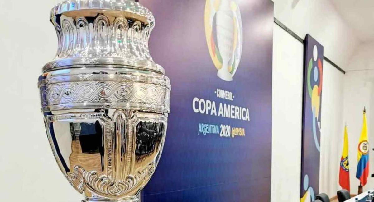 Trofeo de la Copa América. Foto: Twitter