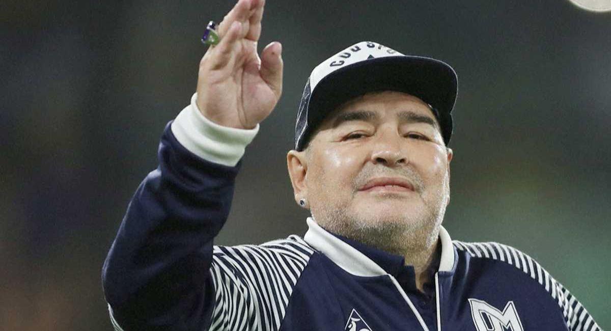 Diego Maradona será homenajeado en la Copa América. Foto: Twitter