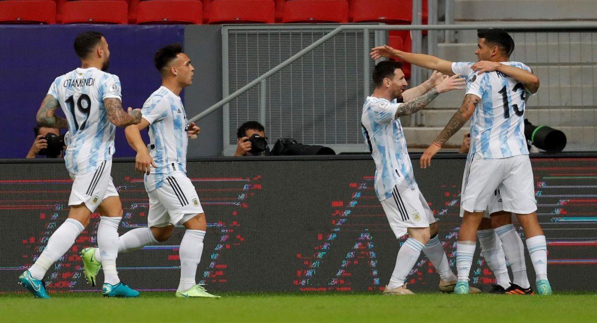 La Selección de Argentina fue más que Uruguay en la Copa América. Foto: EFE
