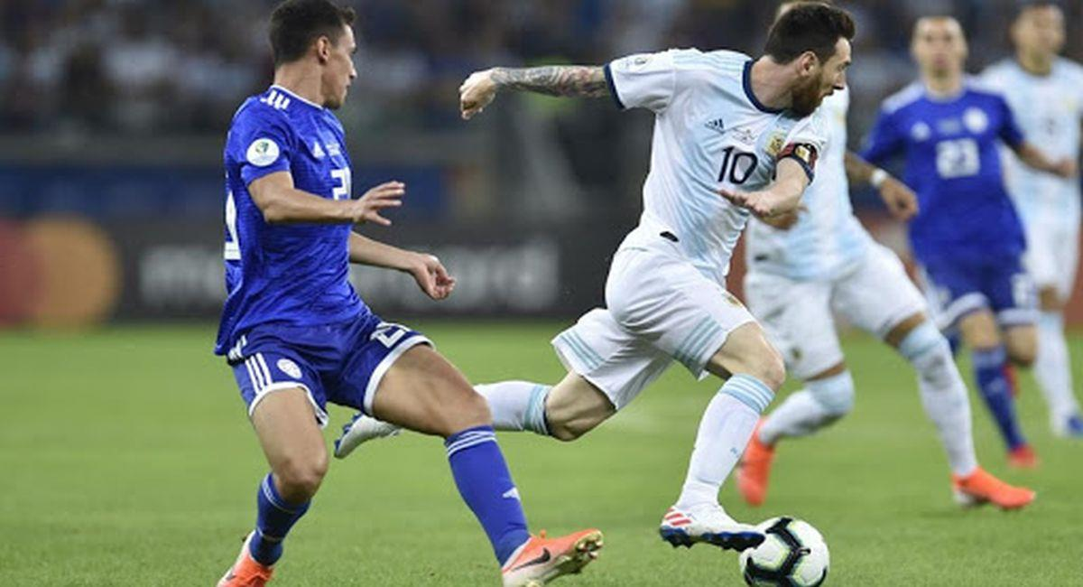 Argentina y Paraguay librarán una dura batalla por la Copa América. Foto: Twitter Conmebol