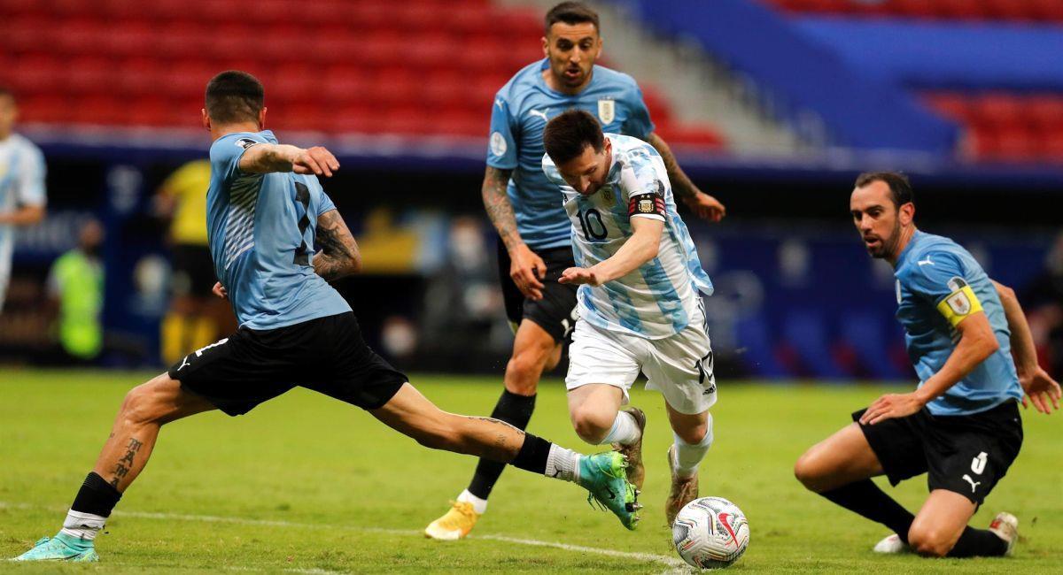 Argentina quiere seguir ganando en la Copa América. Foto: EFE