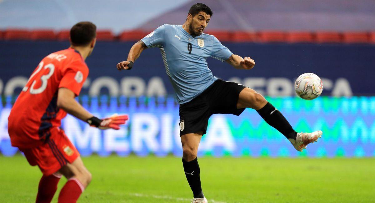 Luis Suárez espera que Uruguay levante cabeza en la Copa América. Foto: EFE