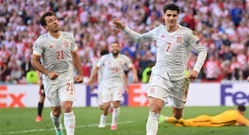 España sufrió para clasificar a los cuartos de la Euro
