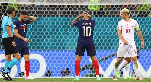 Francia es despedida de la Euro en octavos