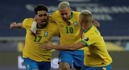 Brasil cumplió y es semifinalista de la Copa América