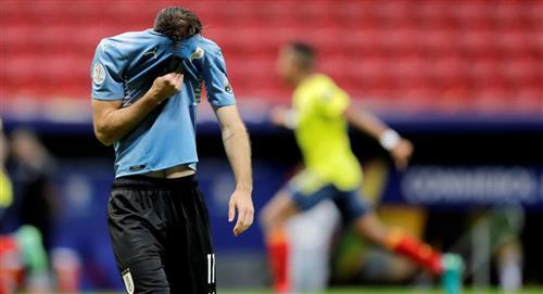Uruguay, eliminada a manos de Colombia