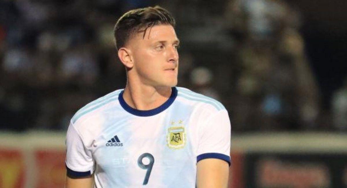 Adolfo Gaich, seleccionado argentino. Foto: Facebook