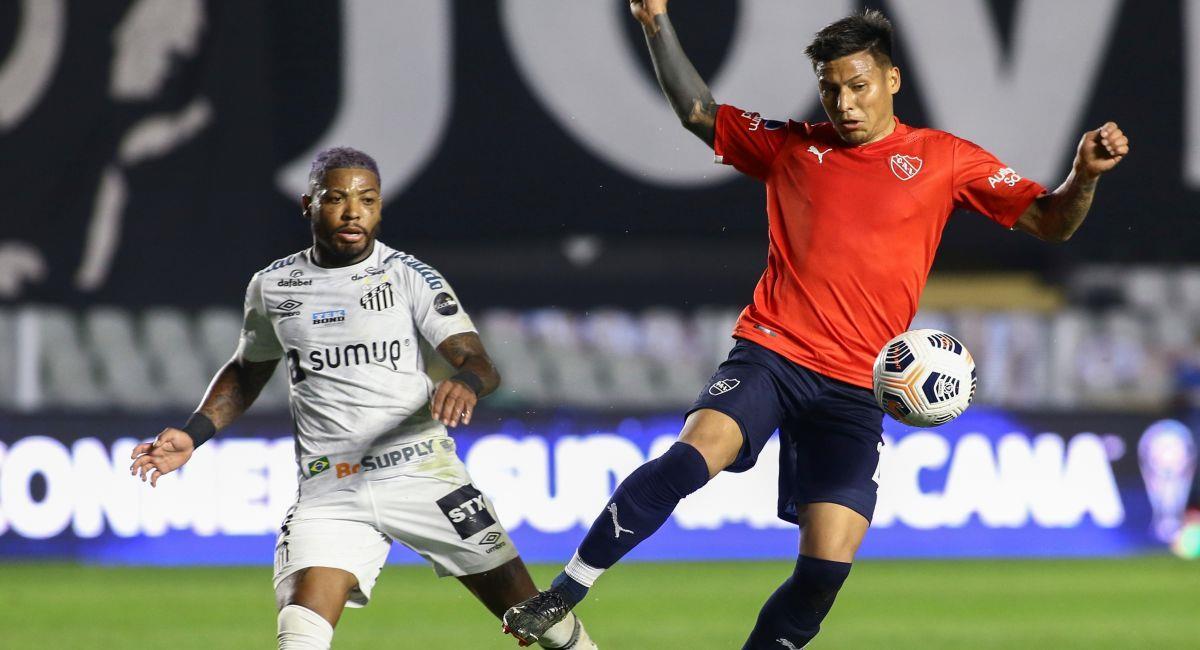 Independiente quiere los tres puntos del partido ante Santos. Foto: EFE