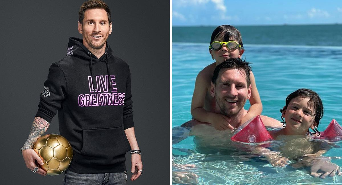 Lionel Messi se relaja en Miami antes de volver a Barcelona. Foto: Instagram @leomessi