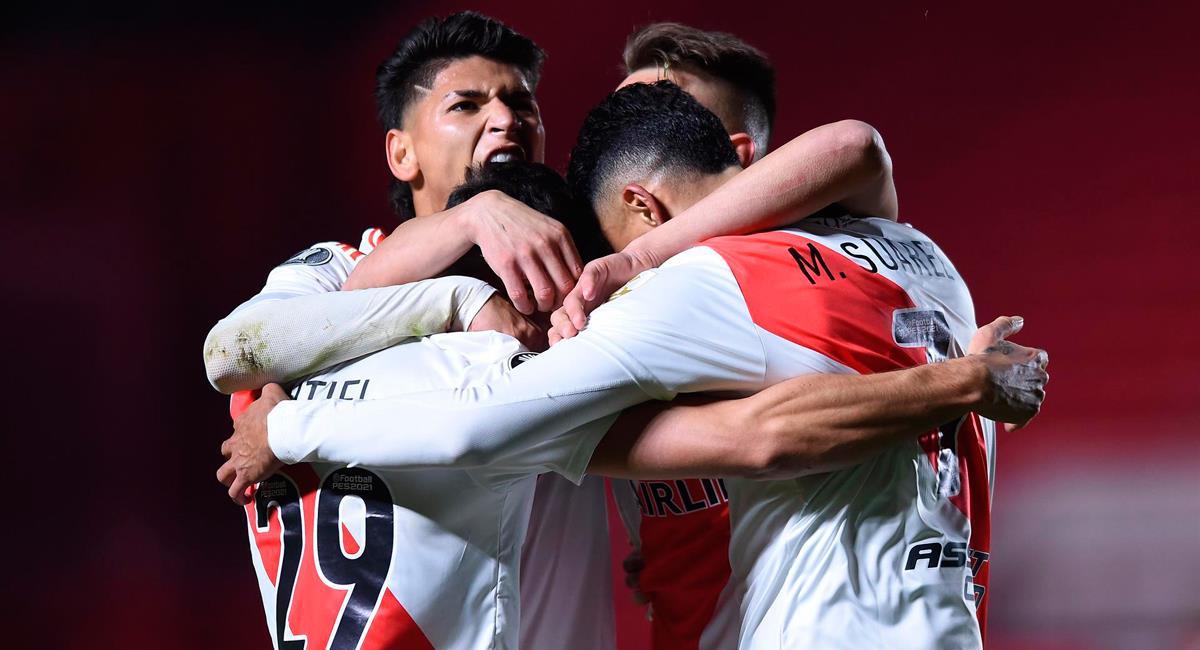 River Plate doblegó a Argentinos Juniors. Foto: EFE