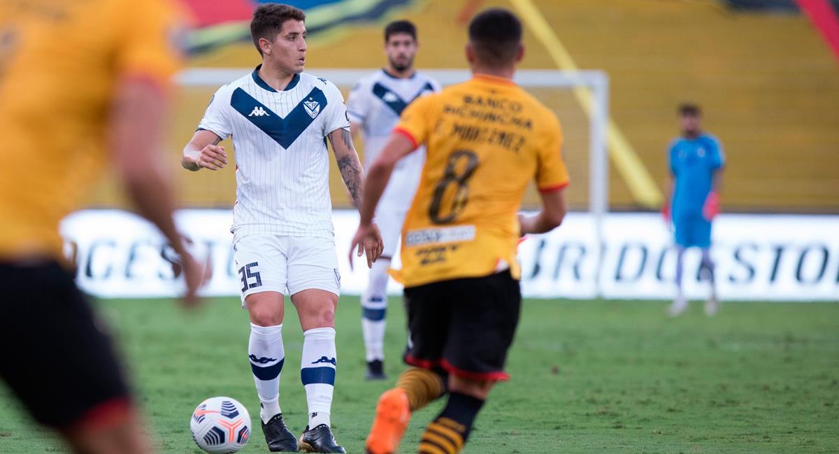Vélez Sarsfield quedó eliminado en octavos de Copa Libertadores. Foto: Twitter @Velez