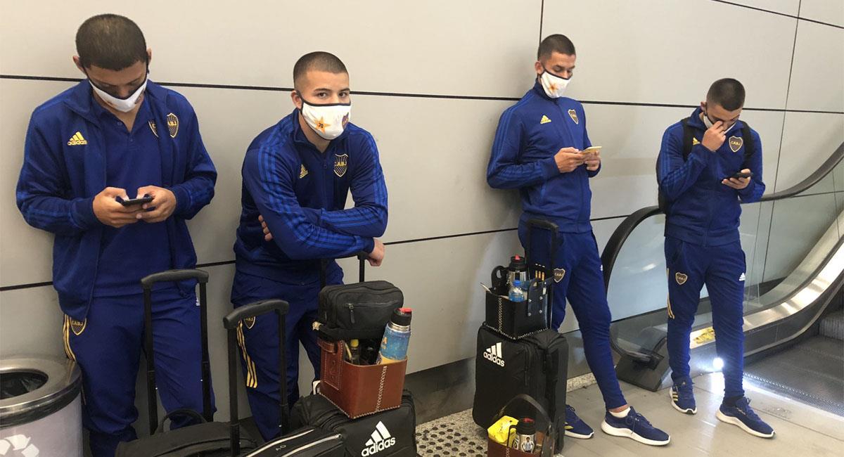 Boca pierde vuelo tras pelea en vestuarios. Foto: Twitter @BocaJrsOficial