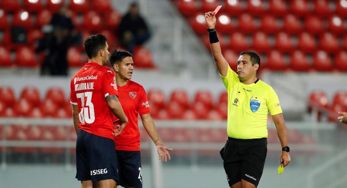 El Rojo se despidió de la Sudamericana. Foto: EFE
