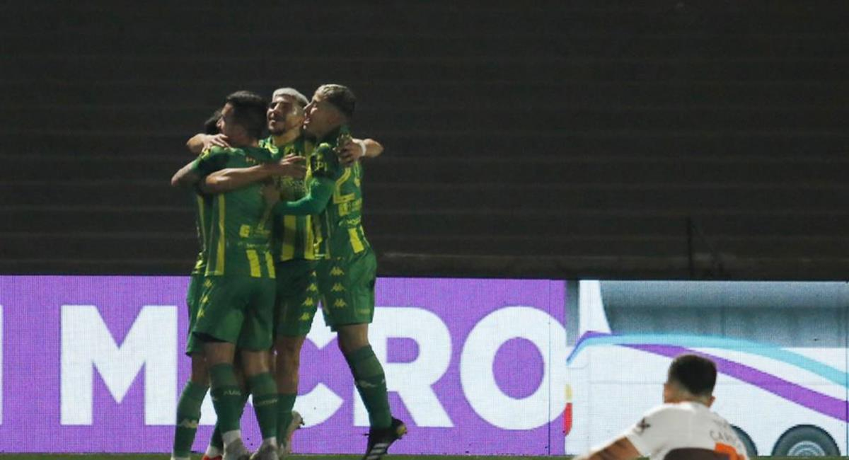 Aldosivi se impuso a Platense por la mínima diferencia. Foto: Twitter @clubaldosivi