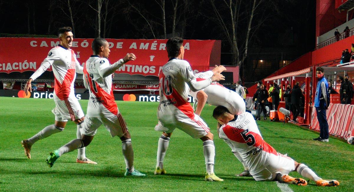River Plate se medirá a Atlético Mineiro en cuartos de Copa Libertadores. Foto: Twitter @RiverPlate