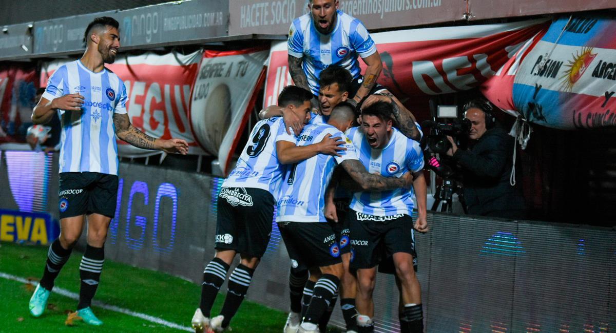 Lucas Villalba anotó el único gol del encuentro. Foto: Twitter @LigaFutProf