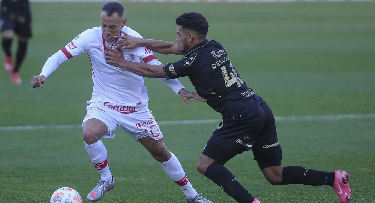 Huracaán y Colón abrieron la fecha 3 de la Liga Profesional. Foto: Twitter Liga Profesional de Argentina
